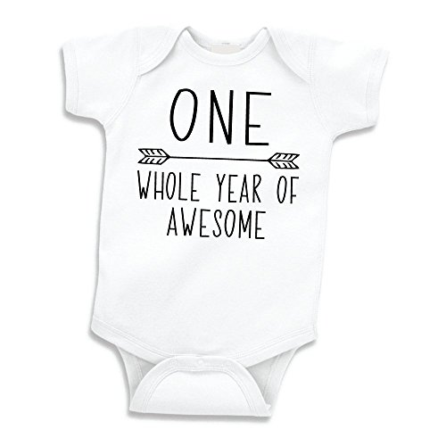 Baby Boys First Birthday Outfit for One Year Old Birthday Shirt (12-18 Months) Black