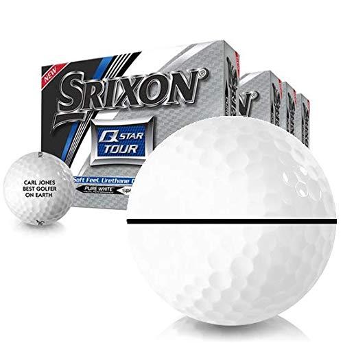 Srixon Q-Star Tour 2 AlignXL ゴルフボール カスタマイズ可 3個セット DZ 無料   B07H33MLBZ