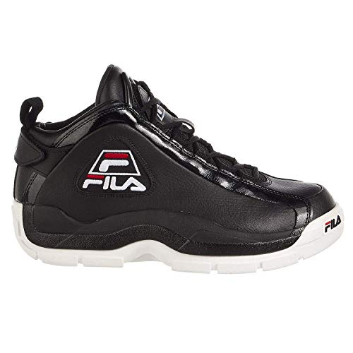 Fila Mens 96 Basketball Shoe Black 10.5