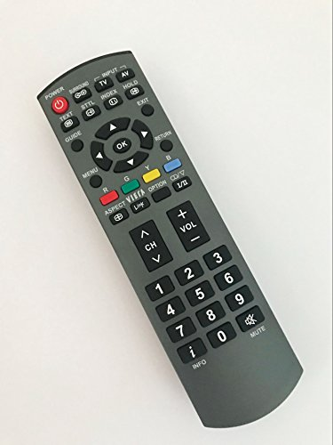 Replacement Remote Control for EUR7737Z10 EUR7737Z20 EUR7737Z30 EUR7737Z40 Panasonic Plasma LCD HDTV