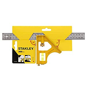 Stanley 2-46-143 - Squadra combinata multiuso Die-Cast, 300 mm, Multicolore (Multicolore) 412HvwEa7FL. SS300