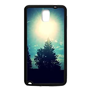 Sunny day tree scenery fashion phone For Case Samsung Galaxy S5 Cover