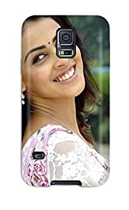 Fashionable MExsxXm7558Ygexx Galaxy S5 Case Cover For Indian Actress Genelia Protective Case