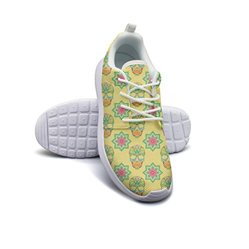 Running Shoes Sugar Women Skull size And Lotus 7 5 Weighted Yellow nBYXqwEw