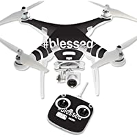 Skin For DJI Phantom 3 Standard – Blessed | MightySkins Protective, Durable, and Unique Vinyl Decal wrap cover | Easy To Apply, Remove, and Change Styles | Made in the USA