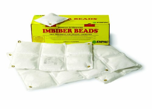 Enpac ENP IE0077 Polypropylene Imbiber Beads Imbicator Packet, 7