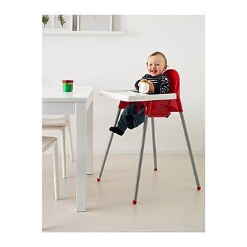 Ikea Antilop Rouge Chaise Haute Avec Ceinture De Sécurité
