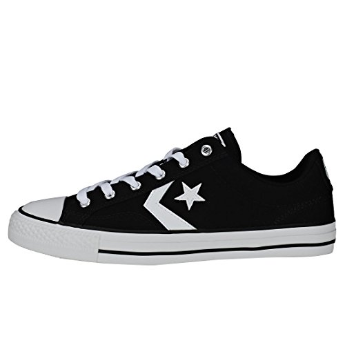 Mixte Star White Lifestyle Adulte Player 001 White Converse Noir Sneakers Black Basses Ox TqYA65