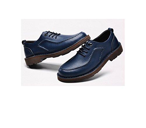 E Casual Marrone Blue Scarpe Autunno Lavoro Pizzo Uomo Nero Blu su da Scarpe Sport Scarpe zmlsc Tela in da Primavera 5BqXX