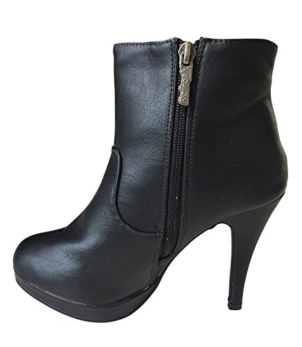 Femme Boot Ankle Boot Femme Ankle Ankle Refresh Refresh Noir Noir Femme Refresh 4qw7q8nF5