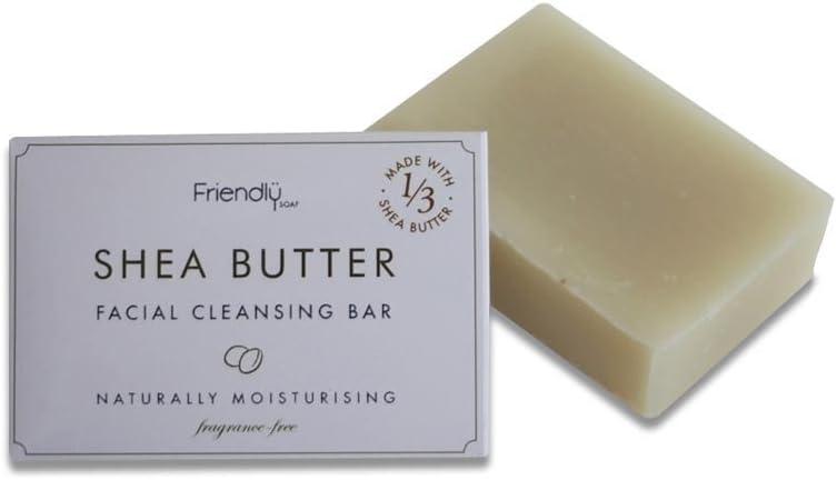 Friendly Soap Natural Handmade Shea Butter Facial Cleansing Bar