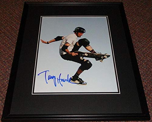 Tony Hawk Signed Framed 11x14 Photo Poster - JSA Certified - Autographed Extreme Sports ()