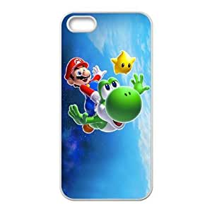 iphone5 5s phone cases White Super Mario Bros cell phone cases Beautiful gifts PYSY9396264