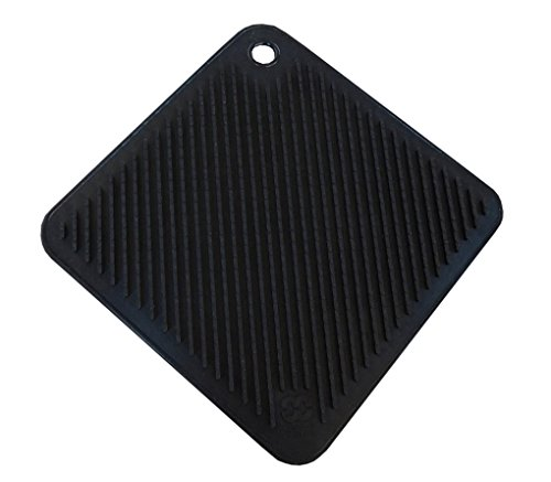 So-Cool Silicone Pot Holder/Trivet, Blac - Black Silicone Pot Holder Shopping Results