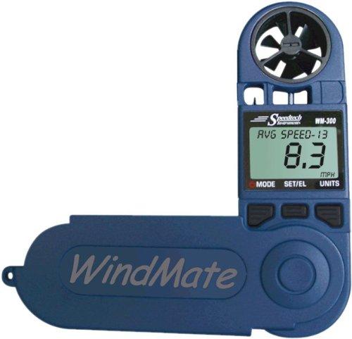 WeatherHawk WM-300 WindMate Hand-Held Weather Meter, Blue by WeatherHawk