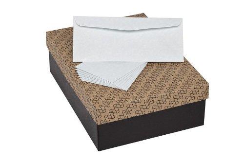Mohawk Skytone Vellum Parchment Envelopes, #10 Commercial Flap, 4-1/8 x 9-1/2 Inches, 24W (89 gsm), 500 Envelopes/Box - Sold as 1 Box, New Bluestone Shade (M34020) (Skytone Vellum)