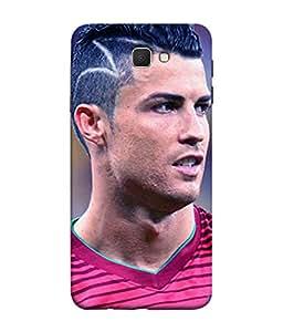 ColorKing Football Ronaldo Portugal 15 Multi Color shell case cover for Samsung On7 Prime