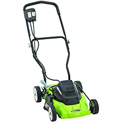 Earthwise 50214 14-Inch 8-Amp Side Discharge/Mulching Corded Electric Lawn Mower