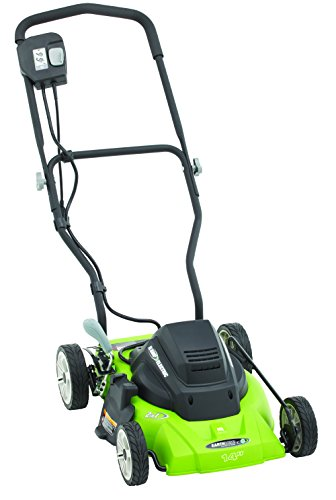 Earthwise 50214 14-Inch 8-Amp Side Discharge/Mulching Corded Electric Lawn Mower by Earthwise