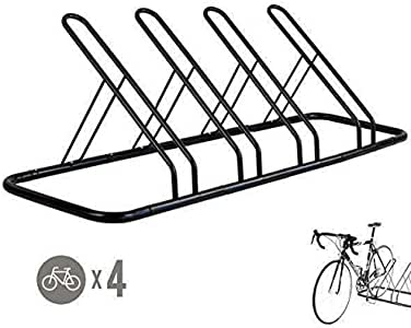 Amazon.com: CyclingDeal 1-4 Bike Floor Parking Rack