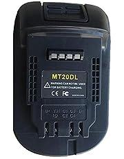 aikeec för Maki ta 18 V skjutreglage Li-ion-batteri konvertera till DEWALT 20 V (Max) elverktygsadapter