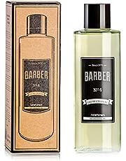 BARBER MARMARA Eau de Cologne męska 500 ml nr 4 w szkle Flacon After Shave Men woda do golenia dla mężczyzn, odświeża długotrwały zapach dla mężczyzn, dezynfekujący, 70% alkoholu