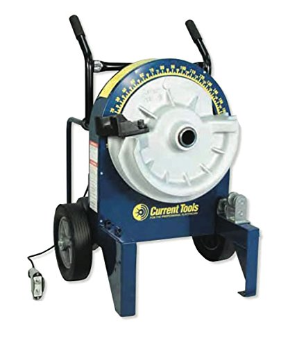Current Tools (77PVC-DL) Deluxe Electric Bender with No. 700P 40mil PVC Coated Conduit Bending Shoes and accessories