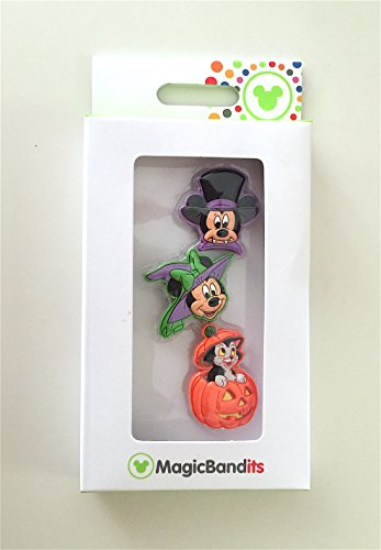 Walt Disney World Halloween Magic Band Bandits Set of 3 Charms