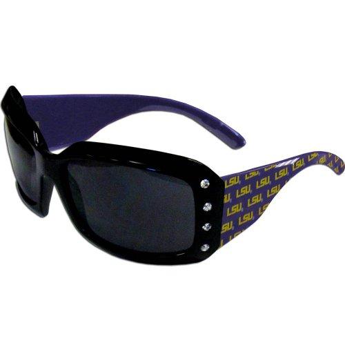 Lsu Tigers Logo Sunglasses - NCAA LSU Tigers Women's Rhinestone Designer Sunglasses