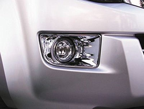 All New Isuzu D-max 12 13 14 Front Chrome Fog Light Lamp Cover Trim Pickup