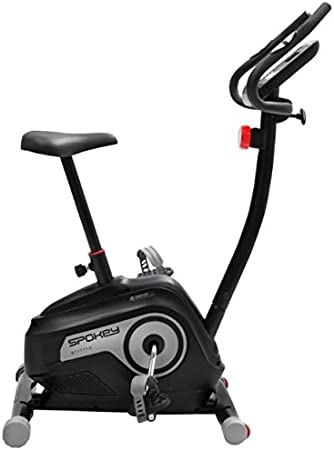 Bicicleta estática magnética Black Spokey, volante de 5 kg ...