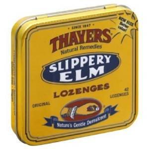 Slippery Elm Loz, Original, 42 ct ( Value Bulk Multi-pack)