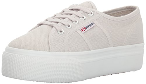 Superga Women's 2790a Cotw Fashion Sneaker, Grey Seashell, 39.5 EU/8.5 M - Grey Seashell