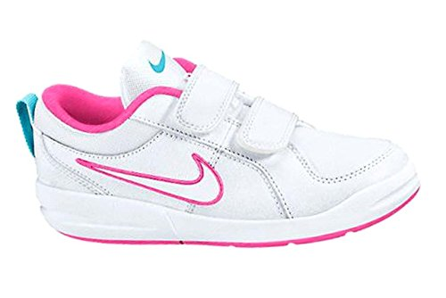 Nike Pico 4 Shoes Baby Girl White/ Pink (White/Pink, 33/5)