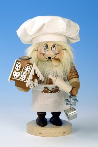 German Incense Smoker Gnome Sweety - 28,5cm / 11 inch - Christian Ulbricht