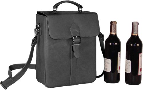 david-king-co-deluxe-double-wine-bottle-carrier-black-one-size