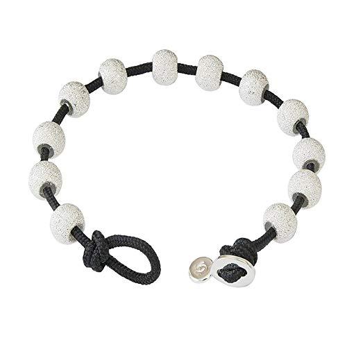Golf Goddess Stroke/Score Counter Cord Bracelet - Black with - Counter Bracelet