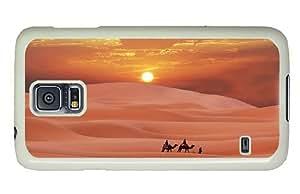 Hipster Samsung Galaxy S5 Case grove desert evening sun PC White for Samsung S5