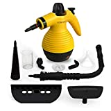 Comforday Multi-Purpose Handheld Pressurized Steam Cleaner with 9-Piece Accessories for Stain Removal, Carpets