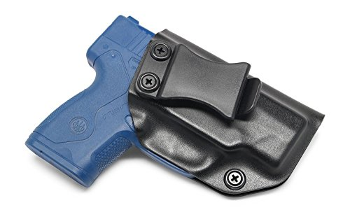 Concealment Express IWB KYDEX Holster: fits Beretta Nano 9MM - Custom Fit - US Made - Inside Waistband - Adj. Cant/Retention (BLK, Right)