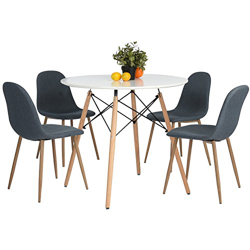 round coffee and end table sets - 9
