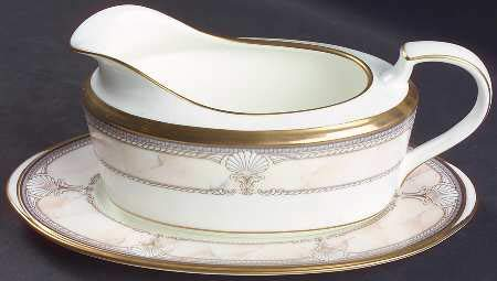- Noritake Pacific Majesty Gravy Boat and Underplate