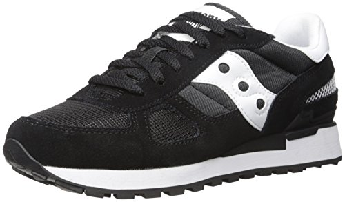 Saucony Damer Shadow Originale Lav Sneaker, Medier Sort (sort)