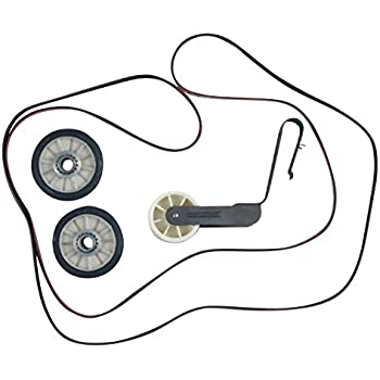 Amazon Com Compatible Dryer Belt Pulley And Roller Repair Kit For