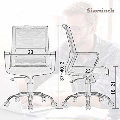 Home Office Chair Desk Computer Ergonomic Swivel Executive