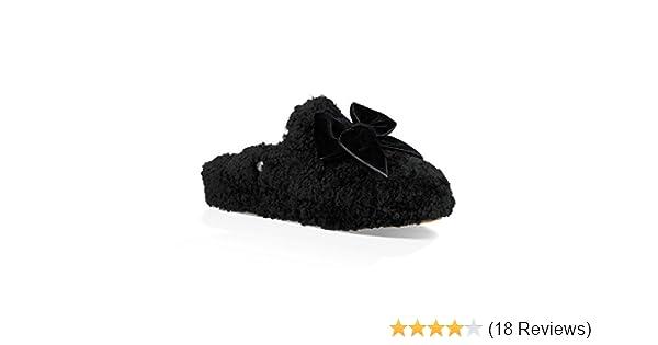 20736812173 Women's W Addison Velvet Bow Slipper