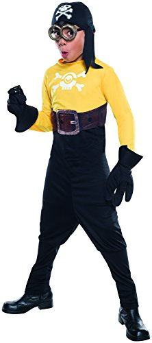 Rubie's Costume Minions Pirate Child Costume, (Party Mania Costumes Halloween)