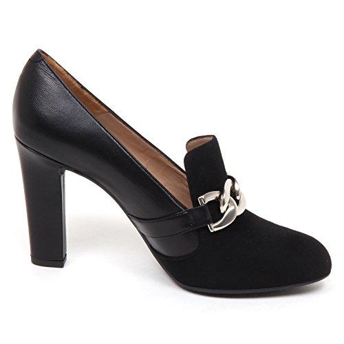 Leather Black E6432 Decollete Woman Shoe Prato Donna Suede Scarpe Unisa vYqAv