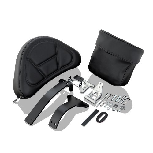 Show Chrome Accessories 52-797 Seat Mount Backrest