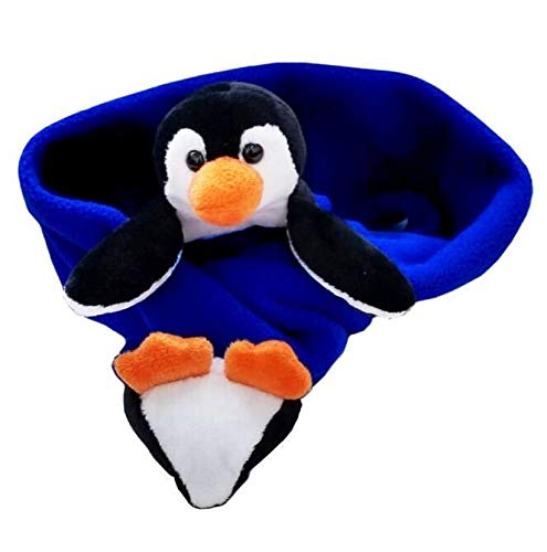 Buddy Perky Penguin Fleece Scarf (Child; One Size; Cobalt Blue)